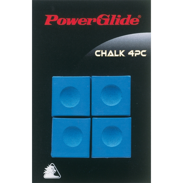 Powerglide Snooker Chalk (4 Pack)