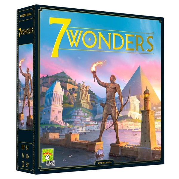 7 Wonders (2nd Edition) Board Game [Damaged Packaging]