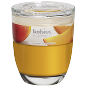 Bolsius Scented Candle In Glass Jar With Lid Exotic Mango
