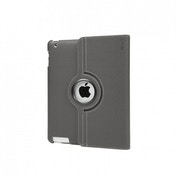 iPad 3rd Generation Rotate Case with Stand Grey