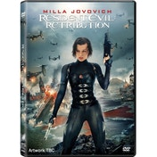 Resident Evil Retribution DVD