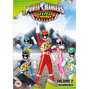 Power Rangers Dino Charge Resurgence (Volume 2) DVD