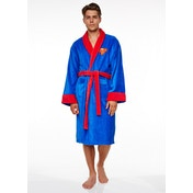 DC Comics Superman Adult Fleece Bathrobe