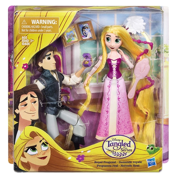 Disney Princess Tangled Royal Proposal Doll Set
