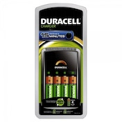 Duracell 15 Minute Charger  4 x AA Cells EU Plug