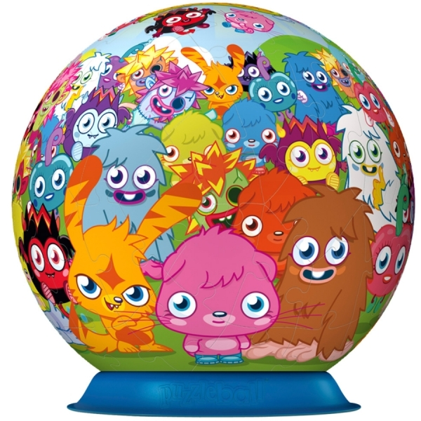 Moshi Monster 3D Jigsaw Puzzle - Image 2