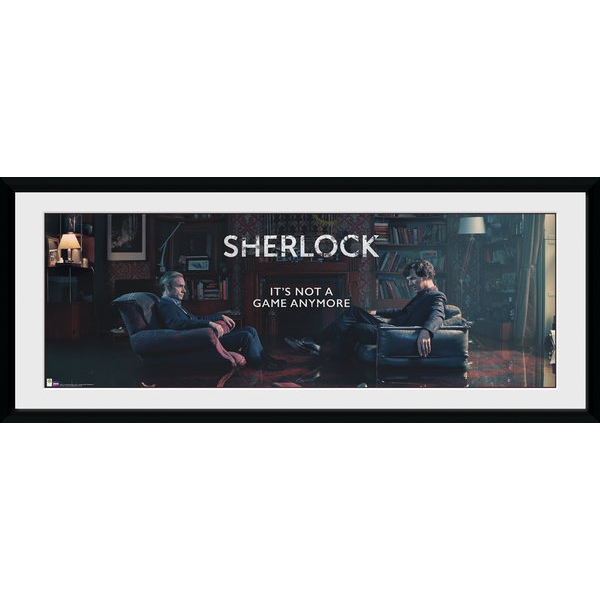 Sherlock Rising Tide Framed Collector Print