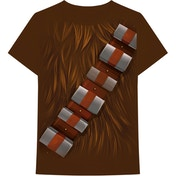 Star Wars - Chewbacca Chest Men's XX-Large T-Shirt - Brown