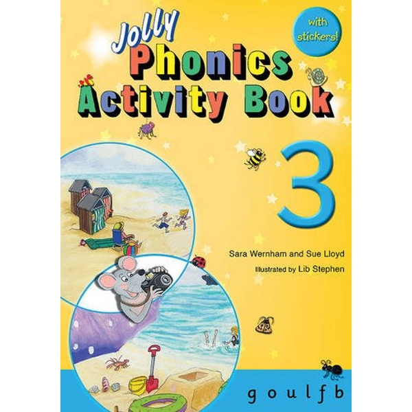 Jolly Phonics Activity Book 3: in Precursive Letters (BE) by Sue Lloyd, Sara Wernham (Paperback, 2010)