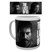 The Last of Us Black And White Mug