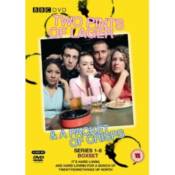 Two Pints Of Lager And A Packet Of Crisps Series 1-6 Complete DVD
