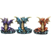 Three Wise Dragons (Pack Of 3) Figures