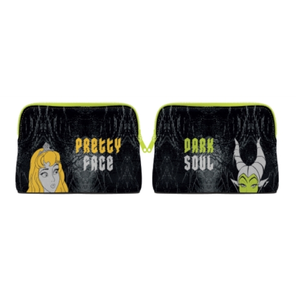 Disney Classic - Disney Maleficent And Aurora Cosmetic Bag