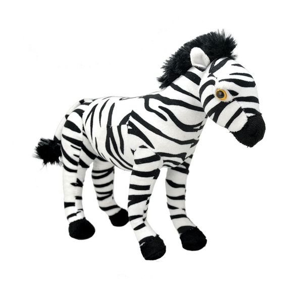 All About Nature Zebra 25cm Plush
