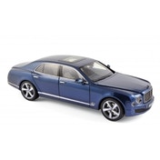 2010 Bentley Mulsanne Speed - Marlin Blue 1:18 Diecast Model