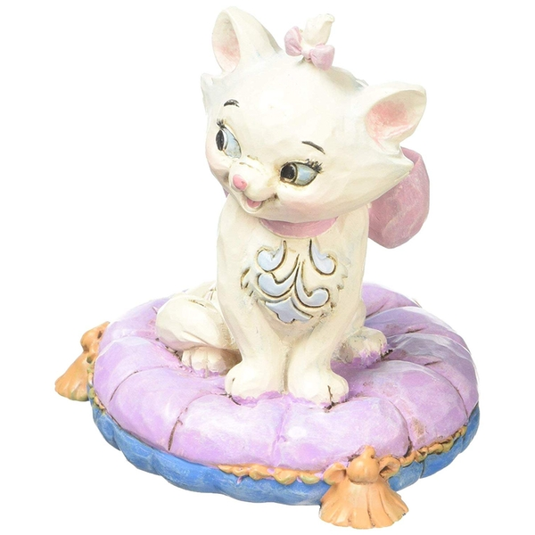 Marie On Pillow (Aristocats) Disney Traditions Mini Figurine