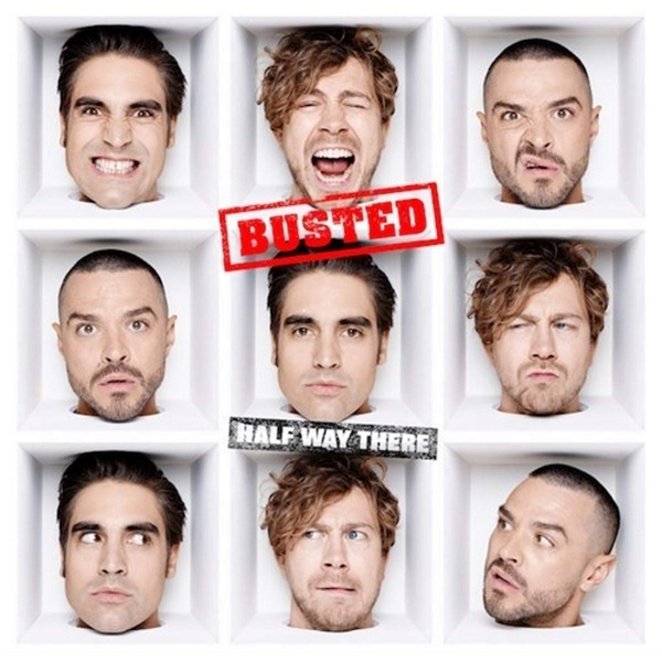 Busted - Half Way There Vinyl