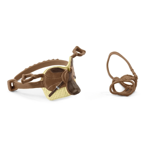 SCHLEICH Horse Club Saddle & Bridle for Sarah & Mystery Toy Figure Accessory Set