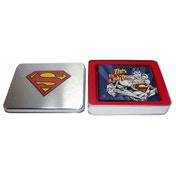 """Superman """"Job for"""" Wallet in Tin"""