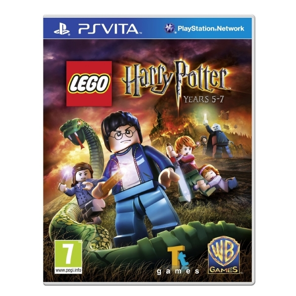 Lego Harry Potter Years 5-7 Game PS Vita