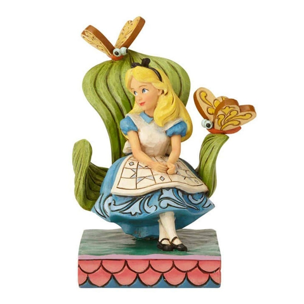 Curiouser and Curiouser (Alice in Wonderland) Disney Traditions Figurine