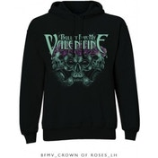 BFMV Crown Of Roses Pullover Hoodie Black: X Large