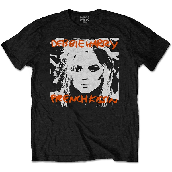 Debbie Harry - French Kissin' Men's Medium T-Shirt - Black