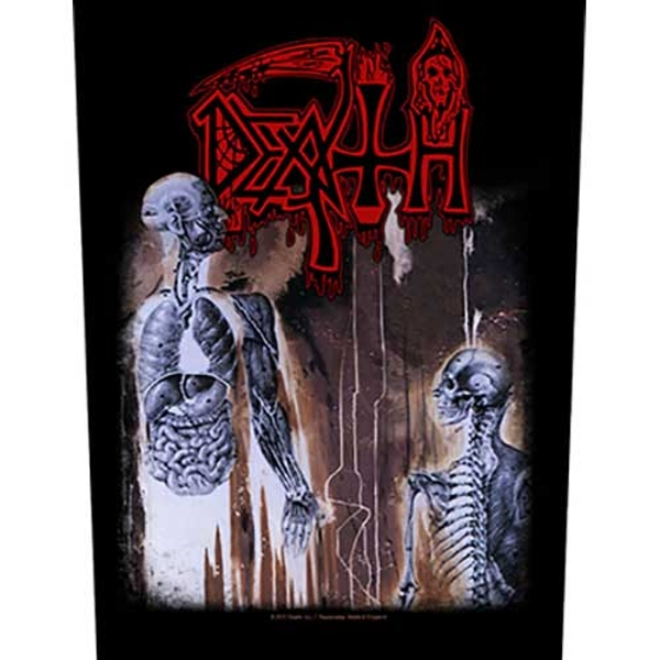 Death - Human Back Patch