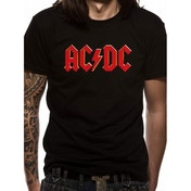 AC/DC Red Logo T-Shirt Large