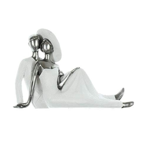 Couture Collection Resin Figurine - Couple Lying Down