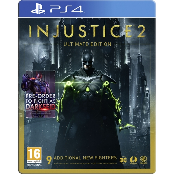 Injustice 2 Ultimate Edition PS4 Game