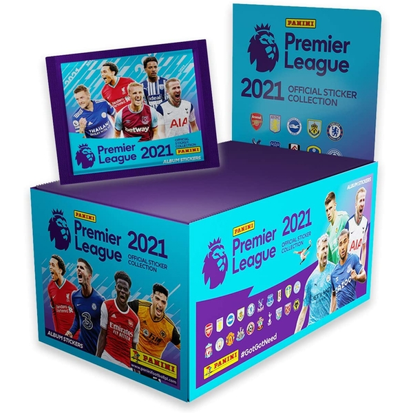 Panini's 2021 Premier League Sticker Collection (100 Packs)