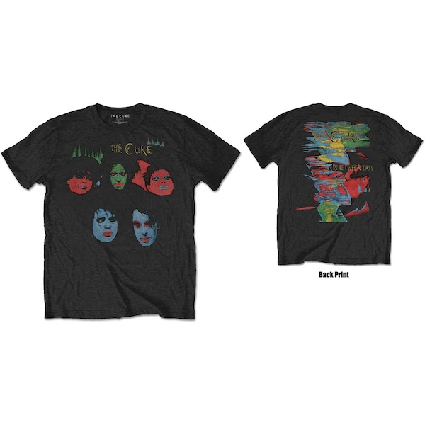 The Cure - In Between Days Unisex Large T-Shirt - Black