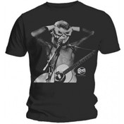 David Bowie Acoustics Mens Black T Shirt: X-Large