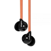 Veho 360 Z-1 Flex Stereo Noise Isolating In-Ear Earbud Earphones in Orange