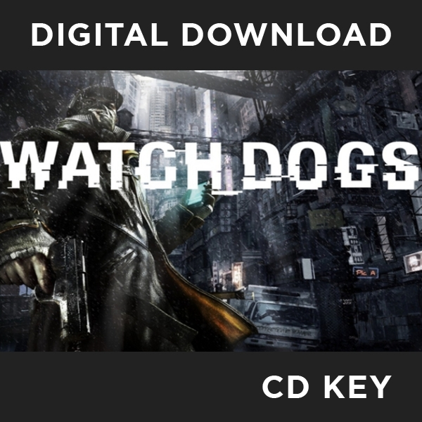 Watch Dogs PC CD Key Download for uPlay