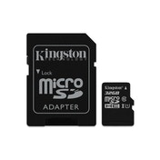 Kingston 32GB Canvas Select Micro SD Card with SD Adapter, Class 10