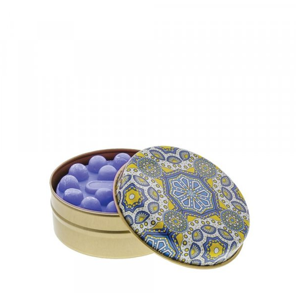 Lemon and Blue Kaleidoscope with Lavender Soap