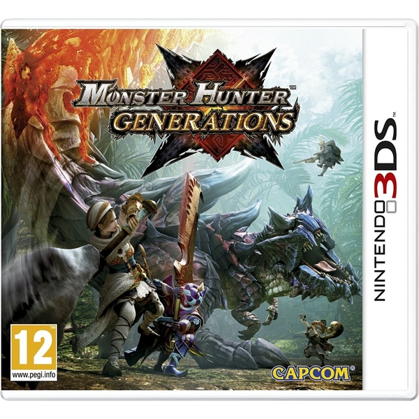Monster Hunter Generations 3DS Game