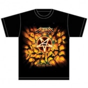 Anthrax Worship Music Mens Black T-Shirt: X-Large