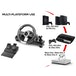 Subsonic GS700 Drive Pro Sport Wheel with Pedals and Gear Shift for PS4 & Xbox One - Image 2