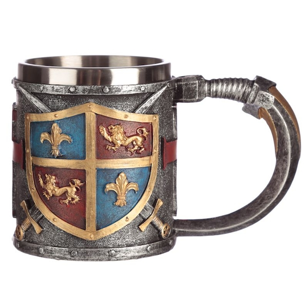 Decorative Coat of Arms Tankard