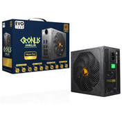Cronus 850W 140mm Ultra Silent Intelligent Temperature Controlled FDB Fan 80 PLUS Bronze Semi Modular PSU