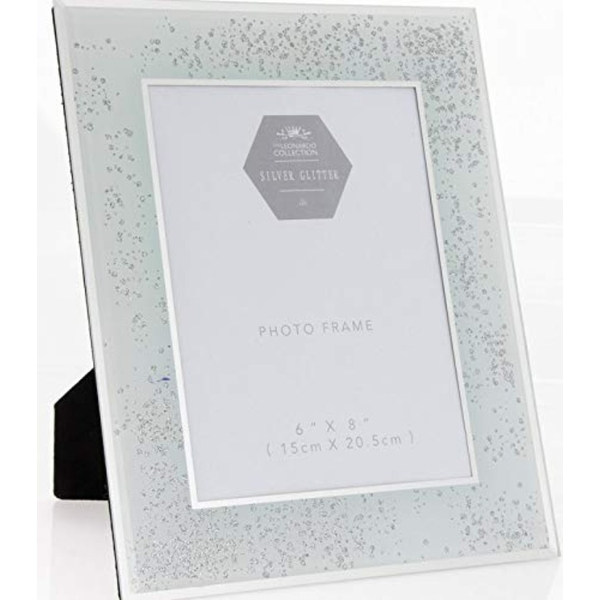Silver Glitter Frame 6X8 By Lesser & Pavey