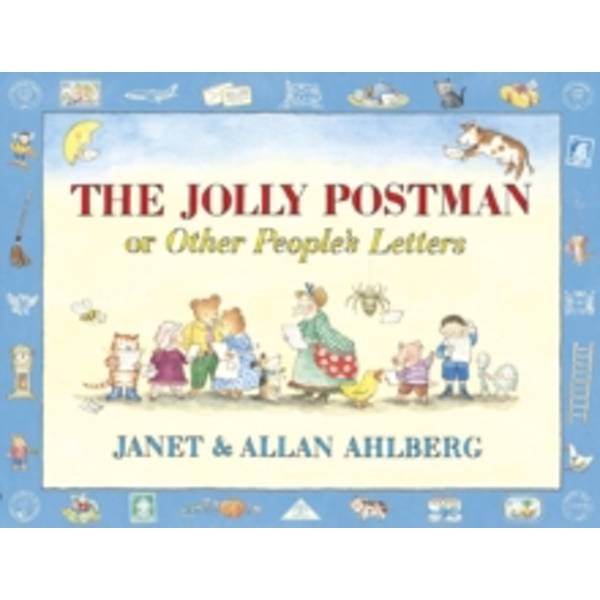 The Jolly Postman or Other People's Letters by Allan Ahlberg, Janet Ahlberg (Hardback, 1999)
