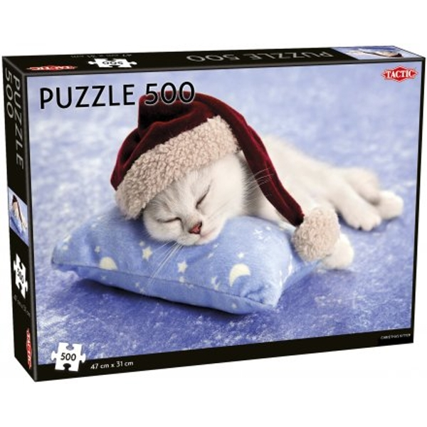 Christmas Kittens 500 Piece Jigsaw Puzzle