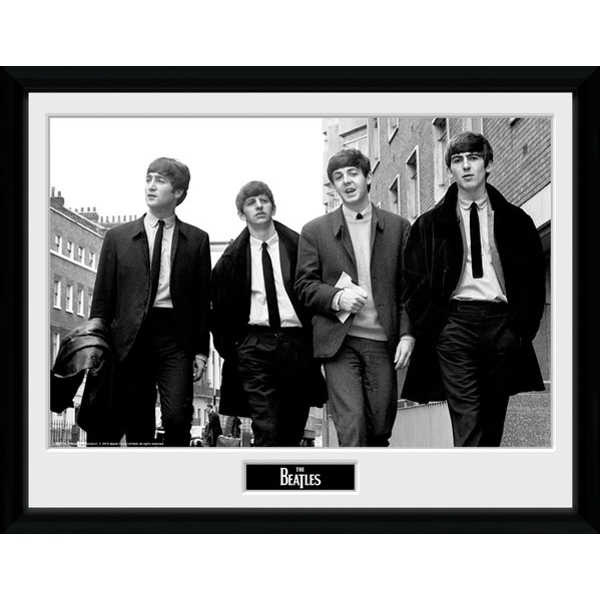 The Beatles In London Framed 16x12 Photographic Print
