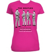 The Beatles You Cant Do That Fuchsia Ladies TS: Large