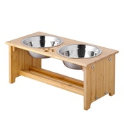 Bamboo Pet Bowls Medium