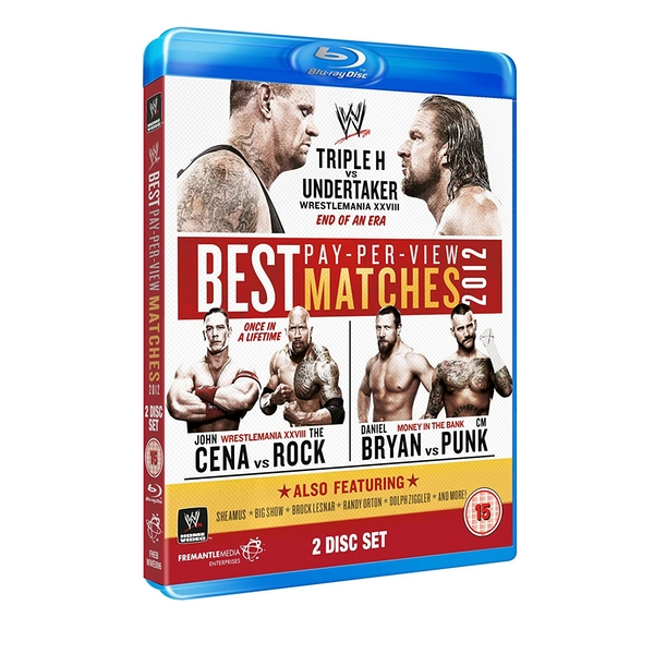 Best PPV Matches Blu-ray 2-Disc Set